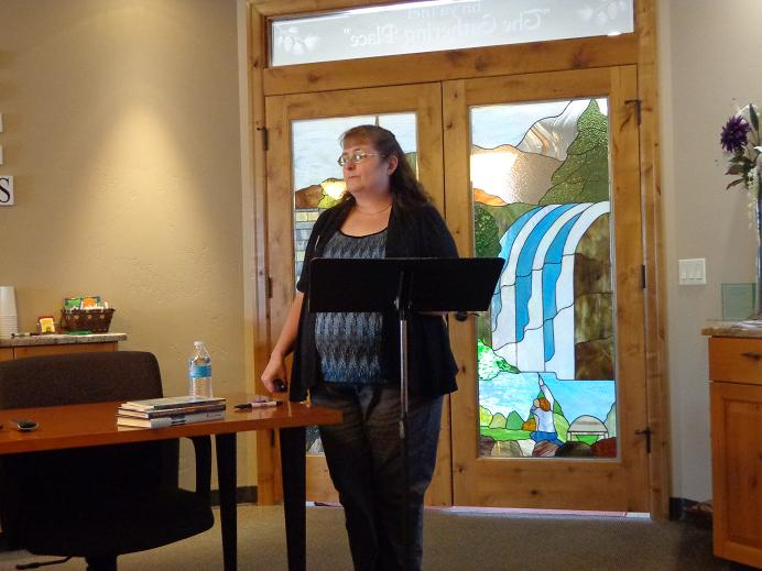 Diane Presenting