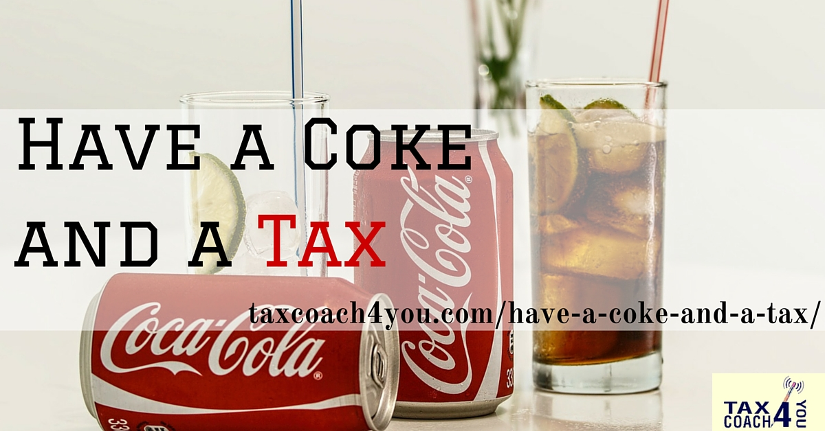 Have a Coke and a Tax