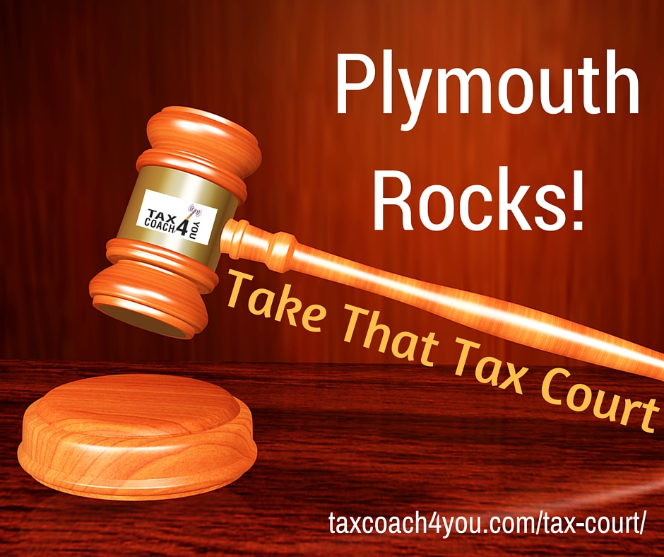 Plymouth Rocks! - Take That Tax Court