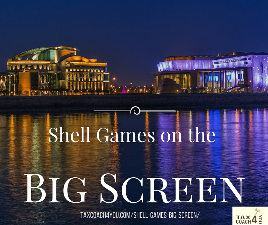 Shell Games on the Big Screen