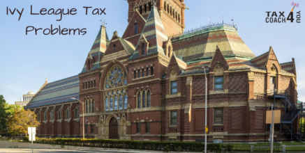 Ivy League Tax Problems