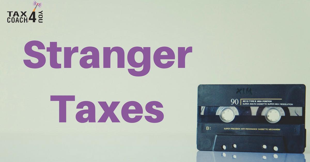 stranger taxes