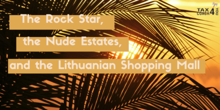 The Rock Star, The Nude Estates, and the Lithuanian Shopping Mall