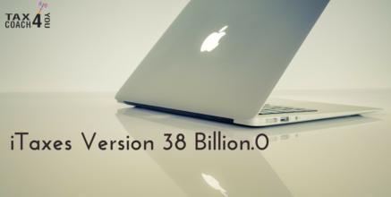 iTaxes Version 38 Billion.0