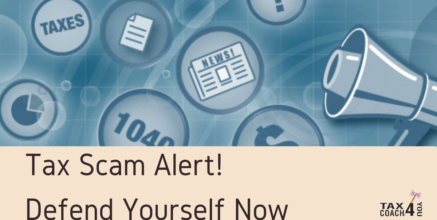 Tax Scam Alert! Defend Yourself Now