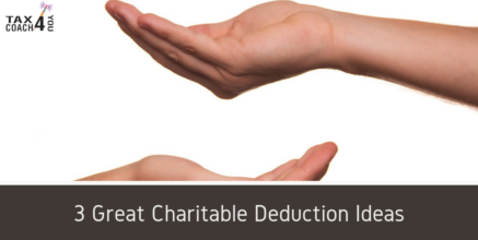 3 Great Charitable Deduction Ideas