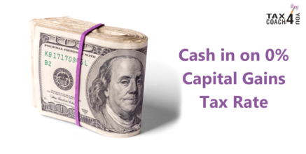 Cash in on 0% Capital Gains Tax Rate