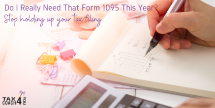 Do I Really Need That Form 1095 This Year?