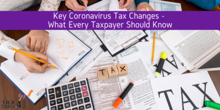 Key Coronavirus Tax Changes – What Every Taxpayer Should Know
