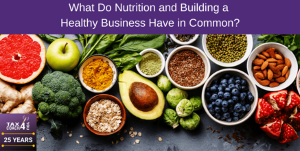 What Do Nutrition and Building a Healthy Business Have in Common?