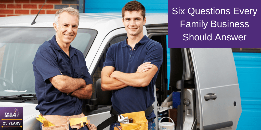 Six Questions Every Family Business Should Answer
